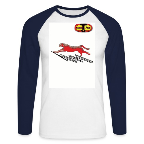 tshirtcheetah - T-shirt baseball manches longues Homme