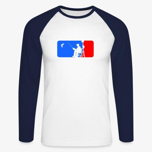 ML FPV - Men's Long Sleeve Baseball T-Shirt
