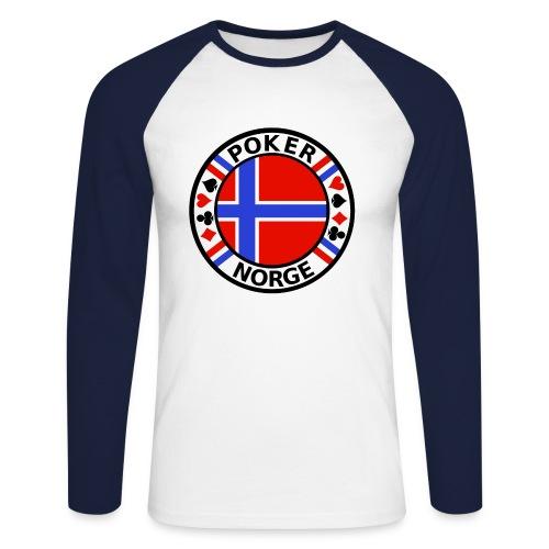 PoKeR NoRGe - Men's Long Sleeve Baseball T-Shirt