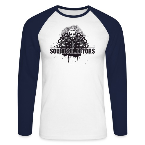 soundselectors - Männer Baseballshirt langarm