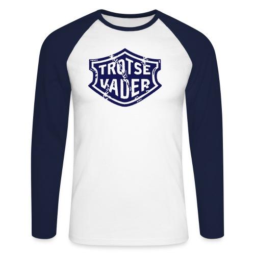 trotsevaderc - Mannen baseballshirt lange mouw