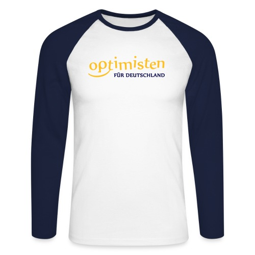 optishirtkomplett - Männer Baseballshirt langarm