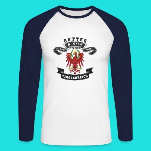 Tiroler - Männer Baseballshirt langarm