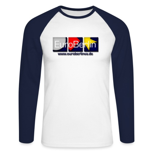 eba logo 1500x650 - Männer Baseballshirt langarm