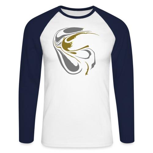 Welle der Hoffnung - Männer Baseballshirt langarm