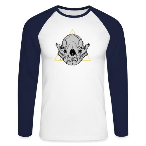 IN TRASH WE TRUST - Koszulka męska bejsbolowa z długim rękawem