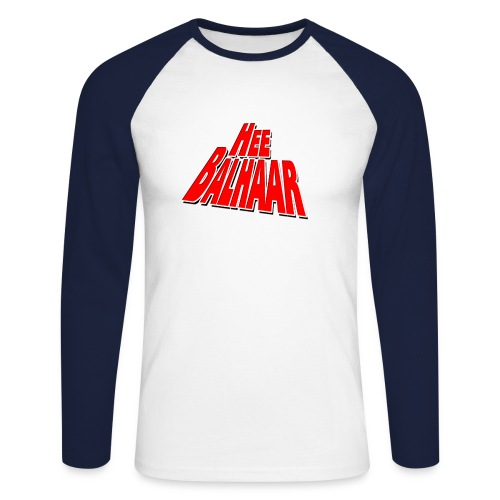balhaar - Mannen baseballshirt lange mouw