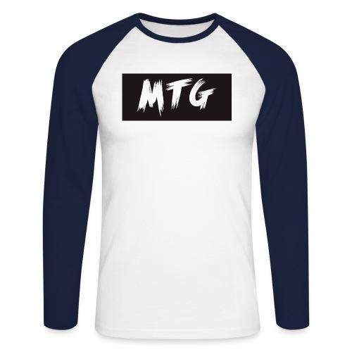 SHIRTLOGO - Men's Long Sleeve Baseball T-Shirt