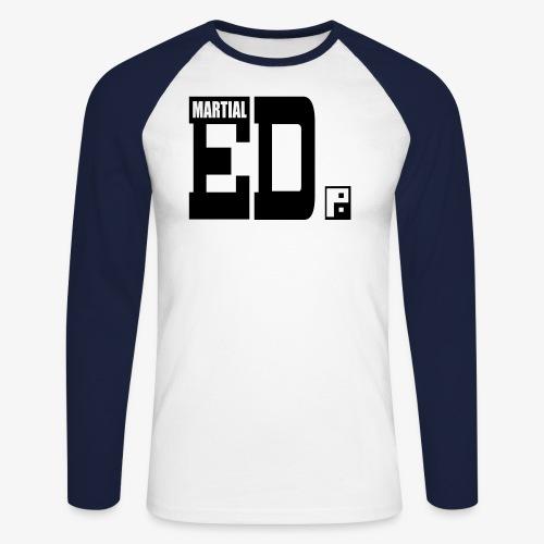 logo4 - Men's Long Sleeve Baseball T-Shirt