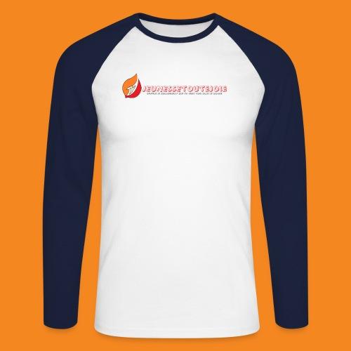 LogoHD jpg - T-shirt baseball manches longues Homme