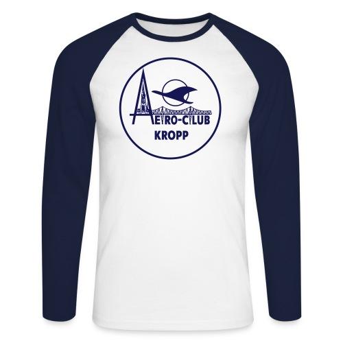 26 3 x 26 3 cm Vektor Positiv - Männer Baseballshirt langarm