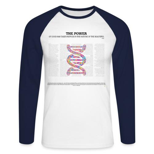 THE BEAUTIFUL - Men's Long Sleeve Baseball T-Shirt
