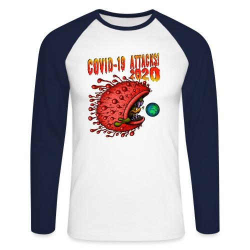 Covid-19 Attacks! 2020 - Männer Baseballshirt langarm