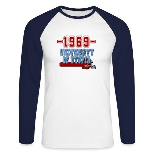 xts0398 - T-shirt baseball manches longues Homme
