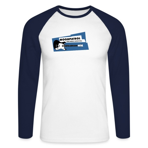 HIGH ENERGY ROCKET ROLL - Männer Baseballshirt langarm