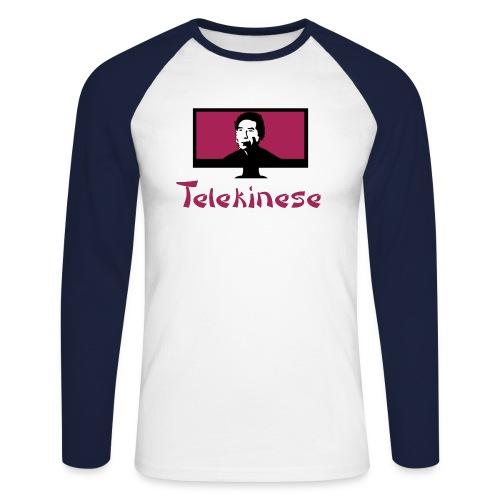Telekinese - Männer Baseballshirt langarm