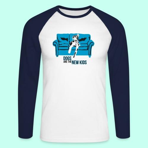 Dogs are the New Kids - Männer Baseballshirt langarm