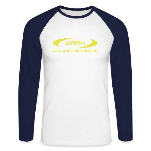 wark www - Männer Baseballshirt langarm