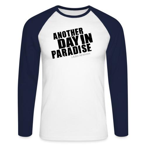 ADIP Schriftzug - Männer Baseballshirt langarm
