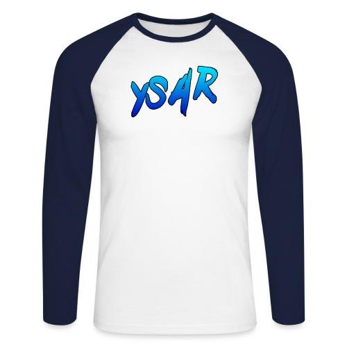 Fancy YsaR Text - Men's Long Sleeve Baseball T-Shirt