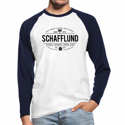 Schafflund - für Kenner 1 - Männer Baseballshirt langarm