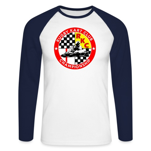 RKC PATCH in Red png - Men's Long Sleeve Baseball T-Shirt