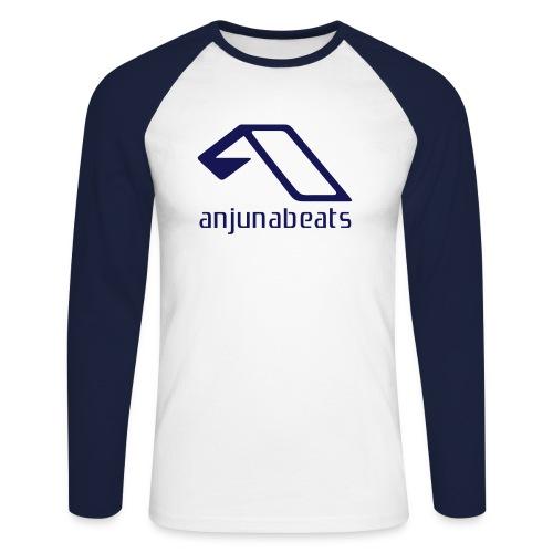 anjunabeats - Koszulka męska bejsbolowa z długim rękawem