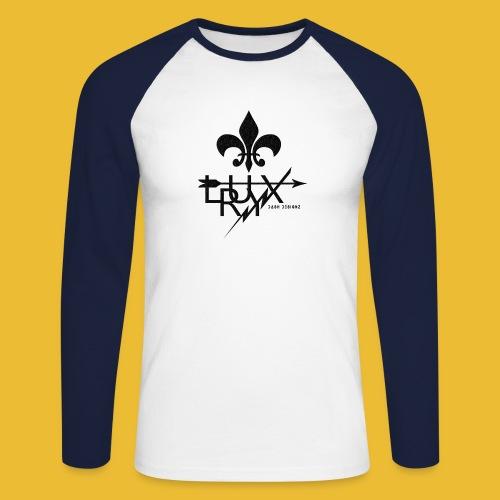 Luxry (Black) - Men's Long Sleeve Baseball T-Shirt