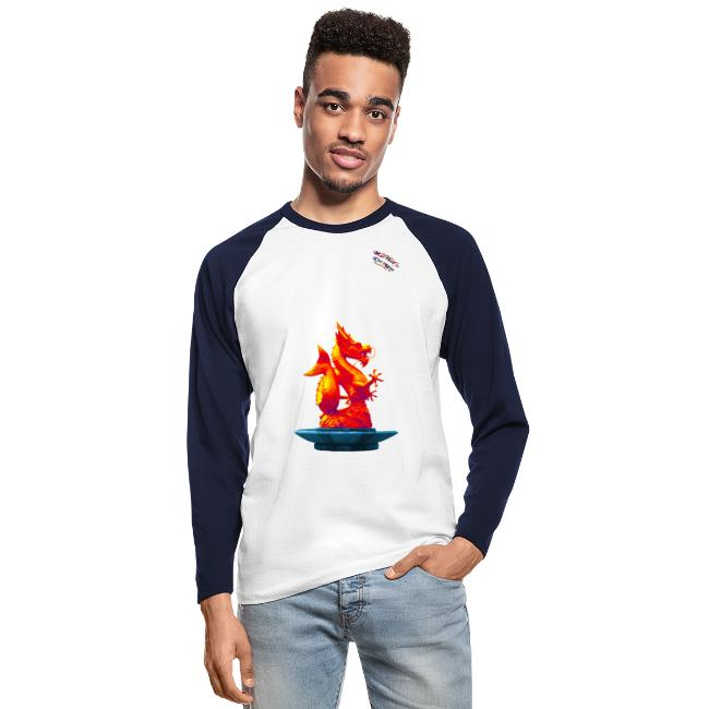 Drachen Statue Shirt Randy Design