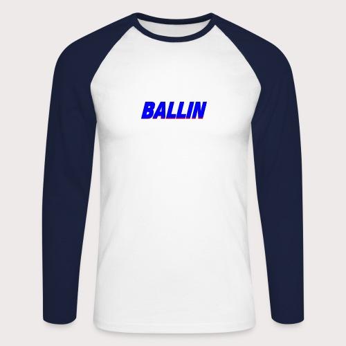 Ballin - Männer Baseballshirt langarm