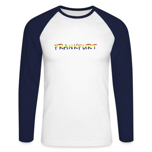 Frankfurt Rainbow #1 - Männer Baseballshirt langarm