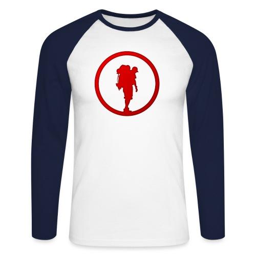 Outdoor Technica Icon - Men's Long Sleeve Baseball T-Shirt