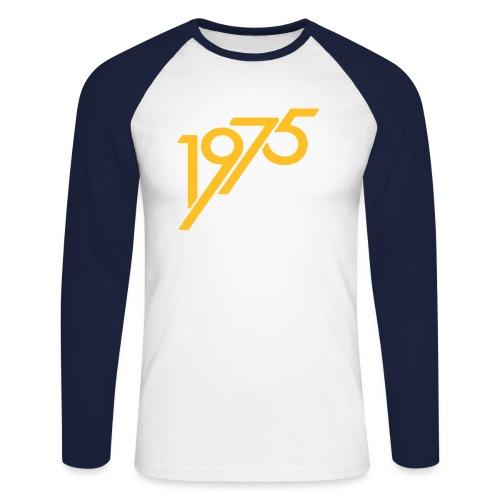 1975 future - Männer Baseballshirt langarm
