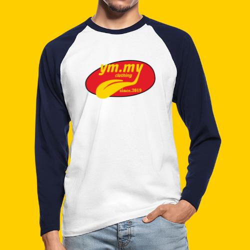 YM.MY clothing LOGO - Men's Long Sleeve Baseball T-Shirt