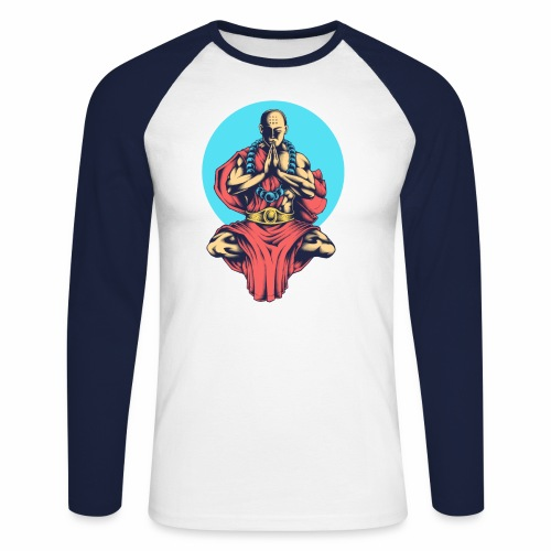 Inner Peace Inner Peace Gift Idea - Men's Long Sleeve Baseball T-Shirt