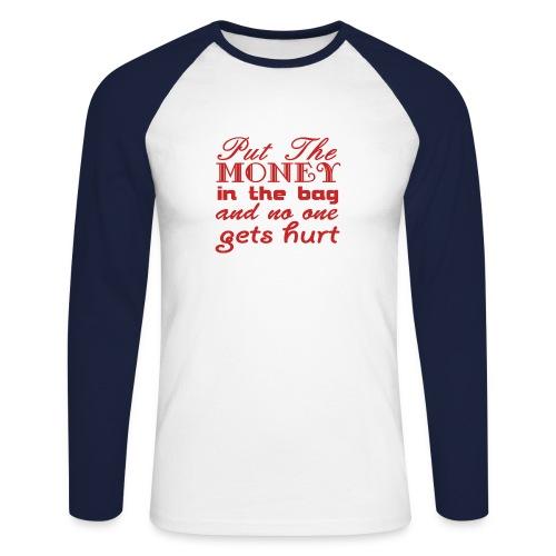 puttthemoneyinthebag - Mannen baseballshirt lange mouw