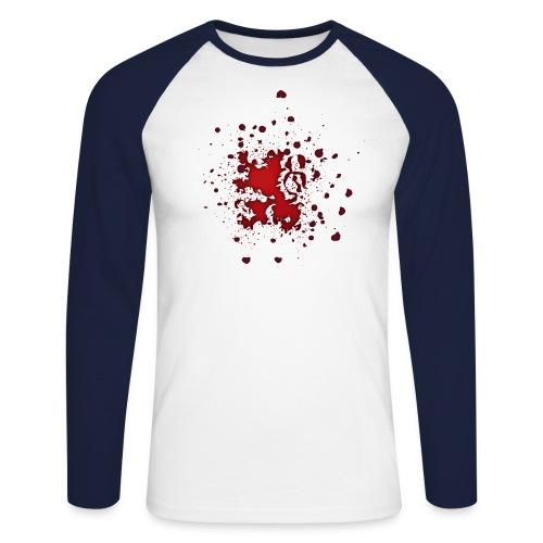 Blutlöwe - Männer Baseballshirt langarm