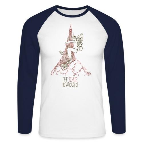Mothman - Men's Long Sleeve Baseball T-Shirt