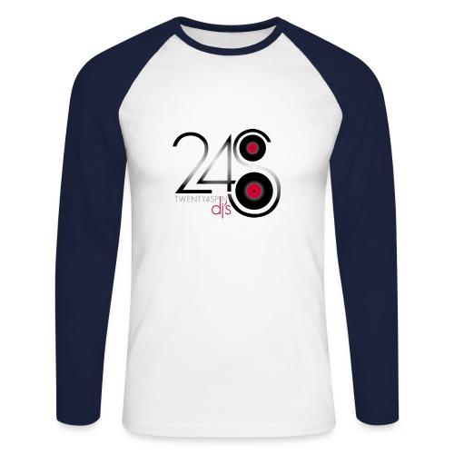 24spindj03 - Men's Long Sleeve Baseball T-Shirt