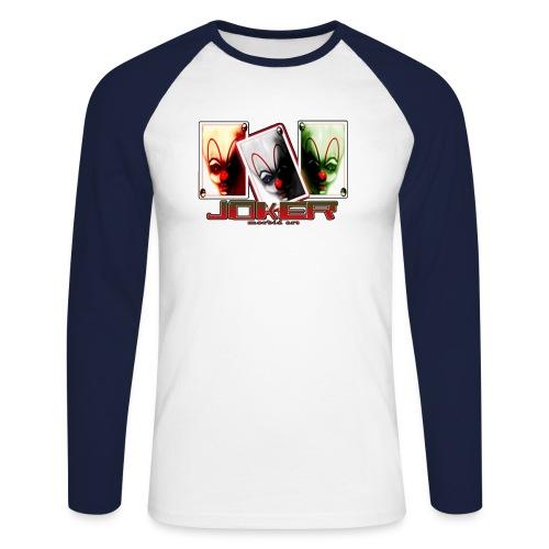 jokersorg - Männer Baseballshirt langarm