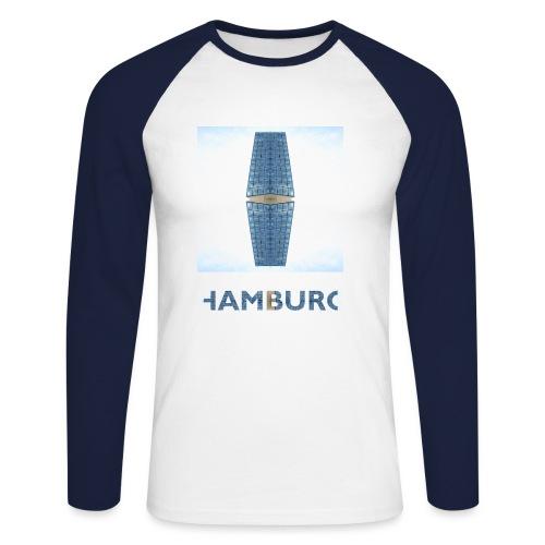 Hamburg #1 - Männer Baseballshirt langarm