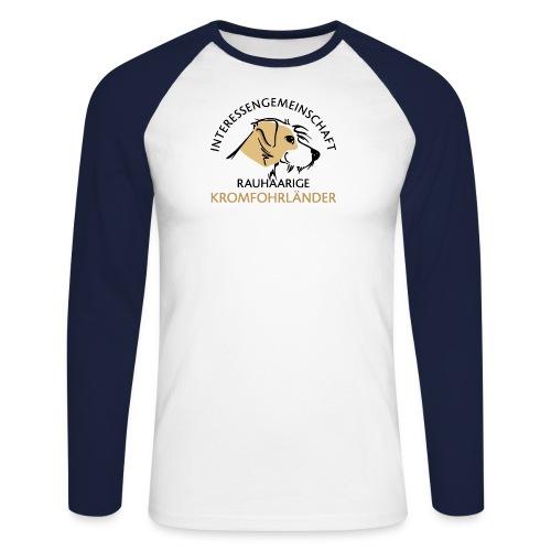 IGRK Logo Gross - Männer Baseballshirt langarm