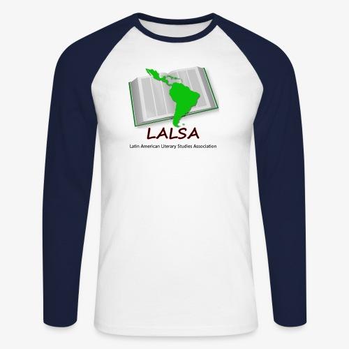 LALSA Dark Lettering - Men's Long Sleeve Baseball T-Shirt