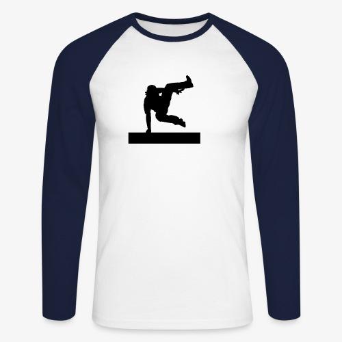 Parkour vault speedvault - T-shirt baseball manches longues Homme