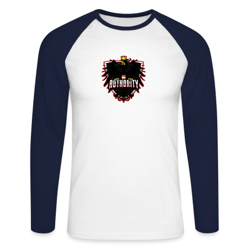 AUThority Gaming red - Männer Baseballshirt langarm