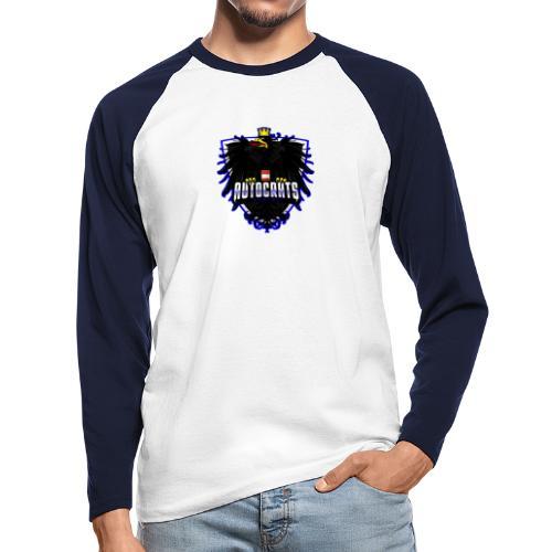 AUTocrats blue - Männer Baseballshirt langarm