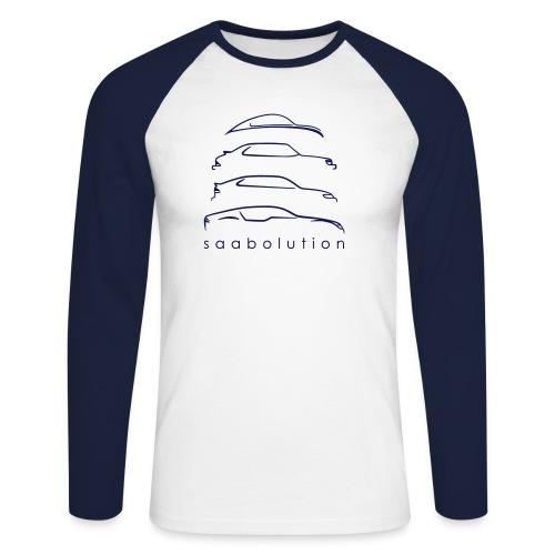 saabolution - Men's Long Sleeve Baseball T-Shirt