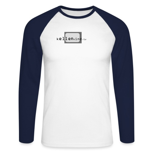 kellerlogotv18cm - Männer Baseballshirt langarm