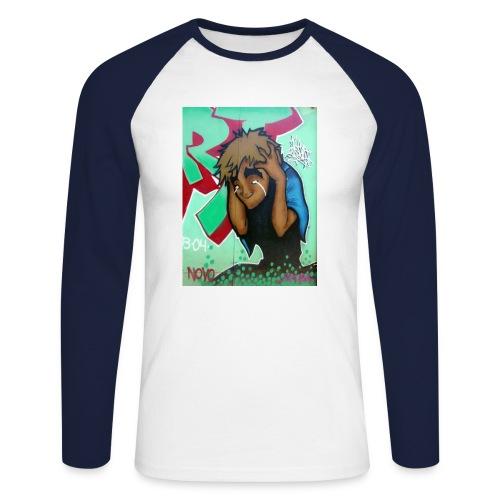 brazil - Men's Long Sleeve Baseball T-Shirt