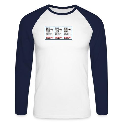 MOONPATROL Ausweise - Männer Baseballshirt langarm